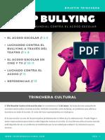 Stop Bullying - Boletin Trinchera - Mayo 2018 - Trinchera Cultural