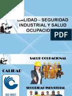 15 - Calidad – Seguridad Industrial y Salud Ocupacional