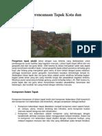 Pengantar Perencanaan Tapak Kota Dan Wilayah