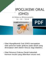 Obat Hipoglikemi Oral