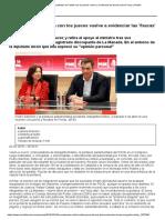 La Manada_ El Patinazo de Catalá Con Los Jueces Vuelve a Evidenciar Las Fisuras Entre Ferraz y Robles