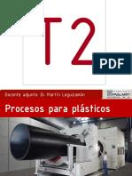 TEORICA T2 - 05 Procesos Para Termoplasticos