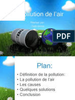 La Pollution de l'Air