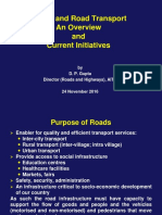 Roads and Road Transport