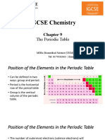 ICGSE Chemistry Chapter 9