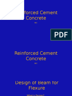 Reinforced Cement ConcretePPT