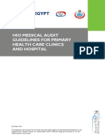 HIO Medical Audit Guidelines for Primary Health Care Clinics and Hospital Ojo