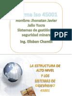 Presentacion Sisteas Gestion Seguridad Salud Ocupacional ISO45001[1][1]