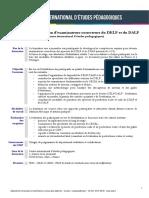 Delf Dalf Examinateurs Correcteurs Programme Stages Individuels