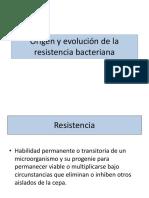 2. Origen y Evolución de La Resistencia Bacteriana 2017 B
