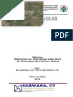 COVER LAPORAN PENDAHULUAN UPT KAIPERA ALOR.doc