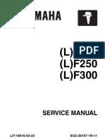 Yamaha outboard engine service manual