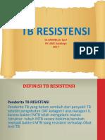 TB RESISTEN-MDR FKUWKS 2017.ppt