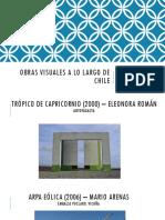 Obras Visuales a Lo Largo de Chile