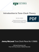 Intro to  Tone Clock Theory