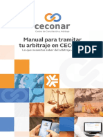 Manual Arbitraje Ceconar Arbitraje