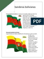 Las Tres Banderas Bolivianas