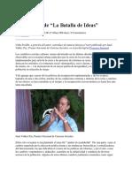 Juan Valdés Paz - El Esenario de La Batalla de Ideas (Cuba Posible)
