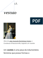 Vestido – Wikipédia, A Enciclopédia Livre