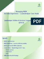 (6) Nilandari Sekhar Sarkar - NRW and the Water Balance - Case Studies