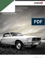 Koni Catalogo Auto Classiche 2017-2018