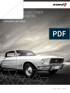 Koni 26 1698 Special D Shock for Jaguar XJ8 26-1698