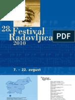 28. Festival Radovljica 2010, 7. – 22. avgust 2010, www.festival-radovljica.si