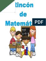 Cartel de Rincon de Matematicas