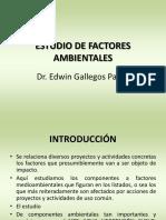 Estudio de Factores Ambientale s