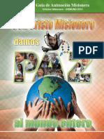 Revista_misionera Hoduras -DOMUND 2014