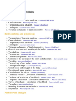Forensic Medicine - Lecture Notes, Study Material and Important Questions, Answers