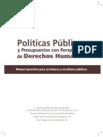 Politicas Publicas y Presupuestos Con Enfoque Ddhh