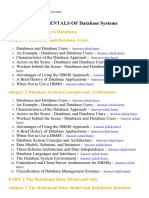 Fundamentals of Database Systems - Lecture Notes, Study Material and Important Questions, Answers