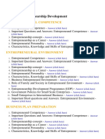Entrepreneurship Development - Lecture Notes, Study Material and Important Questions, Answers