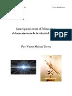 Telescopio y Velocidad de la luz