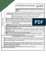 Checklist JUNTA DF
