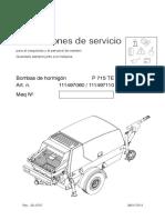 715TD Service Manual Putzmeinster