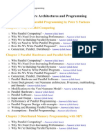 Multi - Core Architectures and Programming - Lecture Notes, Study Material and Important Questions, Answers