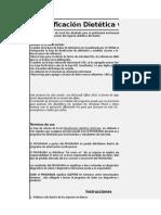 Planificacion Dietética 2018 v1.0