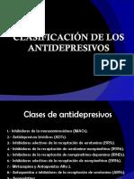 Clasificación de Los Antidepresivos