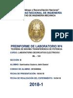 Informe preliminar Laboratorio 4