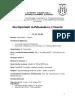 Diplomado PsyF 2017 1 Psicoanalisis Pendiente