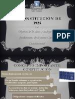 Constitución de 1925