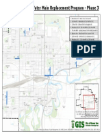 Water Main Replacement Phase 3 Locations