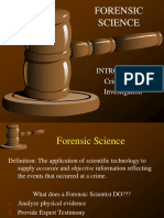 1-Intro to Forensic Sci