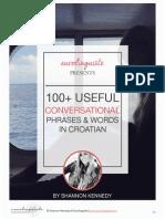Croatian Phrases