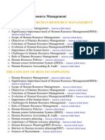 Human Resource Management - Lecture Notes, Study Material and Important Questions, Answers
