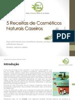 Receitas Cosmeticos Naturais Caseiros