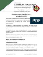 14 Muestreo Probabilístico y Aleatorización