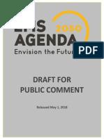 EMS Agenda 2050 Draft for Public Comment
